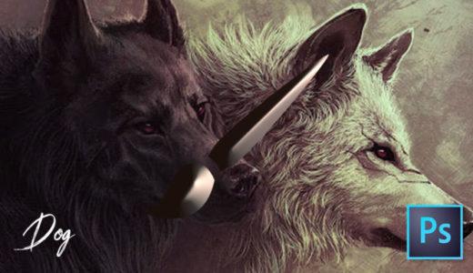 【Photoshop】全て無料!!犬が描けるブラシセット(.abr)
