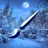 フォトショップ ブラシ 無料 雪 スノー Photoshop Snow Brush Free abr