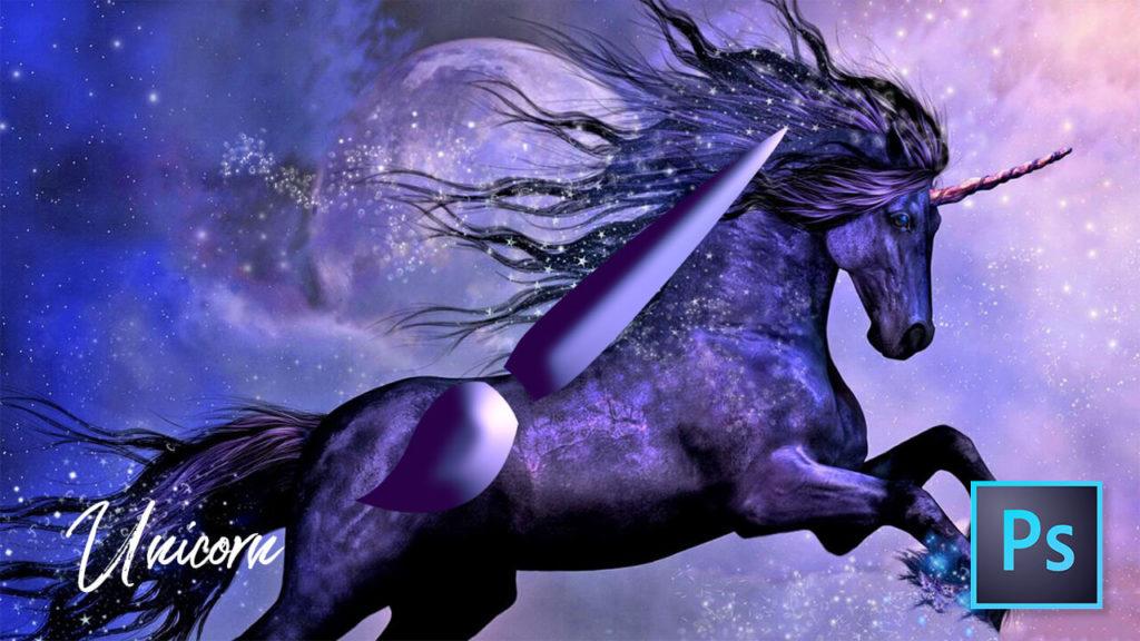 フォトショップ ブラシ 無料 ユニコーン Photoshop Unicorn Brush Free abr