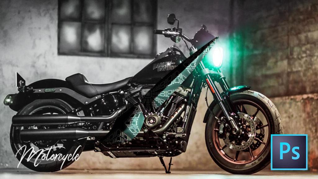 フォトショップ ブラシ Photoshop Bike Brush 無料 イラスト バイク Motocycle