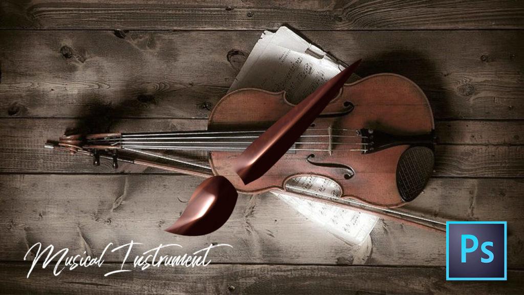 フォトショップ ブラシ Photoshop Musical instrument Brush 無料 イラスト 音楽 楽器 音声 機材