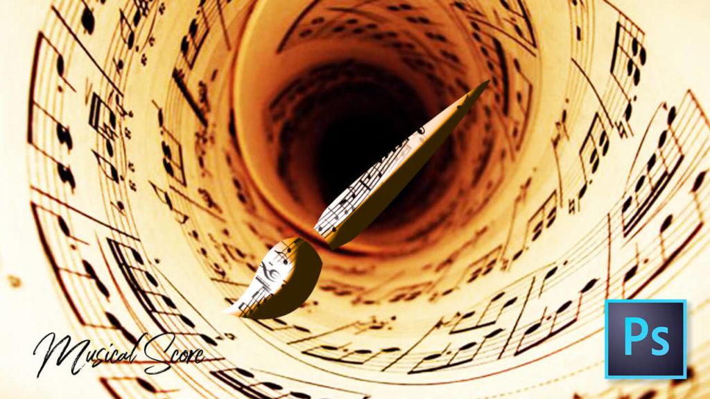 フォトショップ ブラシ Photoshop Music Note Brush 無料 イラスト 音楽 音符 楽譜 譜面 Musical Note Scales