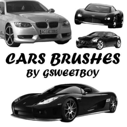 フォトショップ ブラシ Photoshop Car Brush 無料 イラスト 車 カー