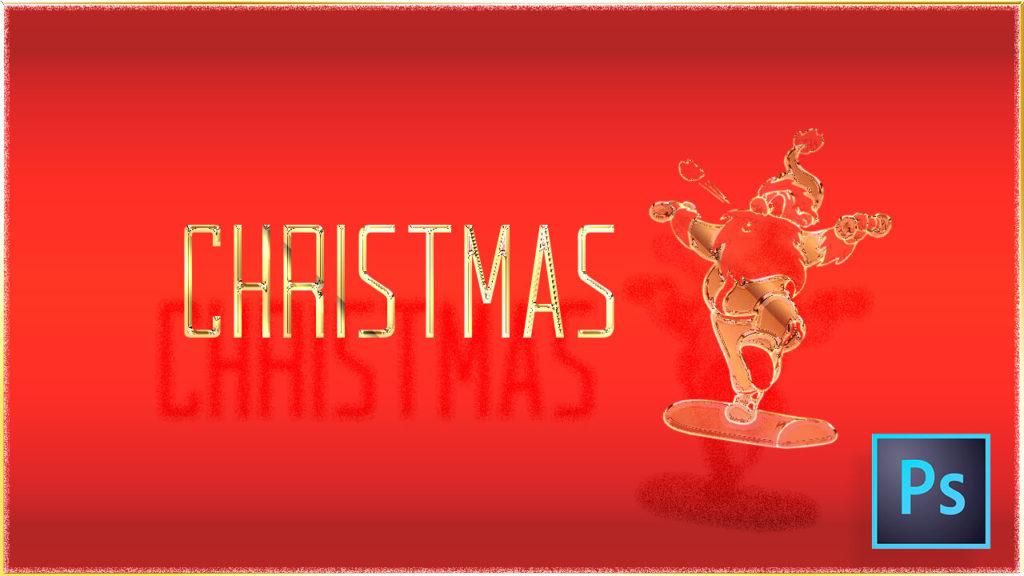 Photoshop Christmas Layer Style フォトショップ クリスマス レイヤースタイル asl 無料