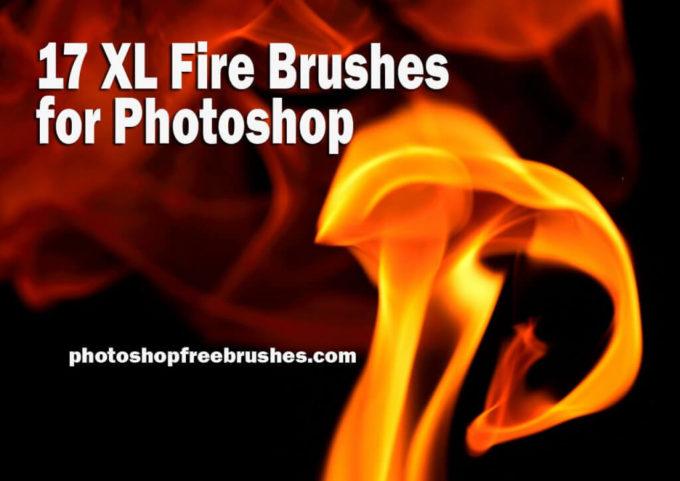 フォトショップ ブラシ Photoshop Fire Brush 無料 イラスト 火 炎 ファイヤー 17 Extra Large Fire Background Photoshop Brushes Part 2