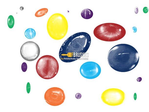 フォトショップ ブラシ Photoshop Jewelry Brush 無料 イラスト 宝石 ジェム Gems and Precious stones