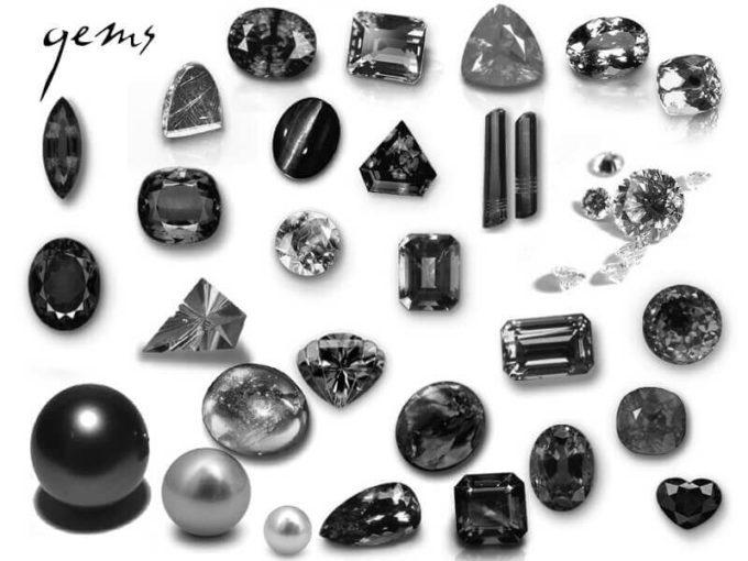 フォトショップ ブラシ Photoshop Jewelry Brush 無料 イラスト 宝石 ジュエル gems