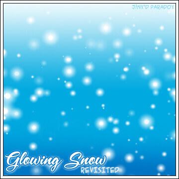 フォトショップ ブラシ Photoshop Snow Brush 無料 イラスト 雪 スノー  Glowing Snow - Revisited