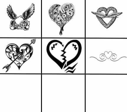 フォトショップ ブラシ 無料 ハート Photoshop Heart Brush Free abr PS_heart