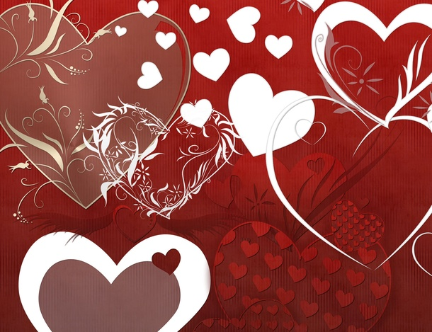 フォトショップ ブラシ 無料 ハート Photoshop Heart Brush Free abr Heart Love