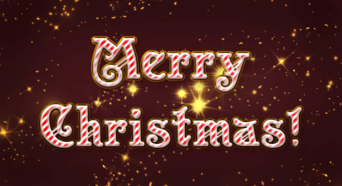 Photoshop Christmas Text Effect Xmas フォトショップ クリスマス テキストエフェクト Photoshop Christmas Text Effect Xmas フォトショップ クリスマス テキストエフェクト Merry Xmas Text Style