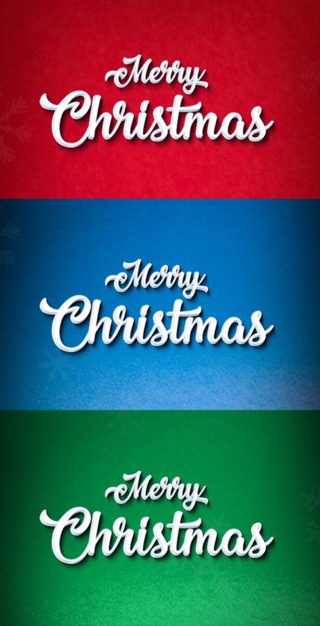 Photoshop Christmas Text Effect Xmas フォトショップ クリスマス テキストエフェクト Christmas Text Effect