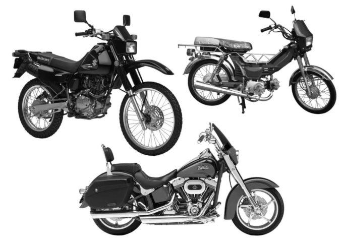 フォトショップ ブラシ Photoshop Bike Brush 無料 イラスト バイク Motocycle Brushes Set 1