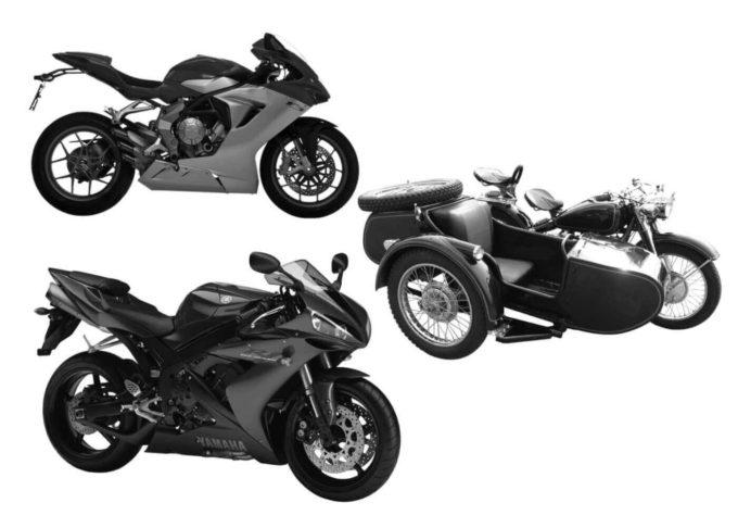フォトショップ ブラシ Photoshop Bike Brush 無料 イラスト バイク Motocycle Brushes Set 4