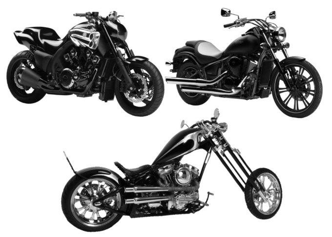 フォトショップ ブラシ Photoshop Bike Brush 無料 イラスト バイク Motorcycle Brushes Set 6