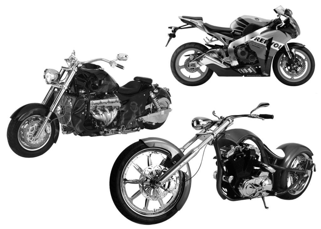 フォトショップ ブラシ Photoshop Bike Brush 無料 イラスト バイク Motorcycle Brush Set 8