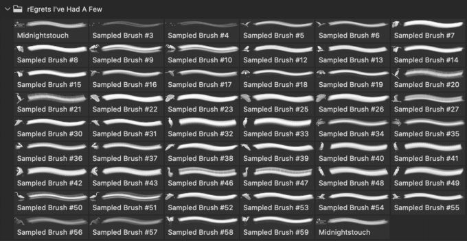 フォトショップ ブラシ Photoshop Egrets Brush 無料 イラスト 鳥 バード 白鷺 rEgrets I've Had a Few