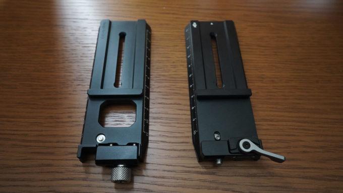 DJI  RC2 RSC2 SmallRig クイックリリースプレート 3061 アルカスイス互換 RSC2 クイックリリースプレート 比較