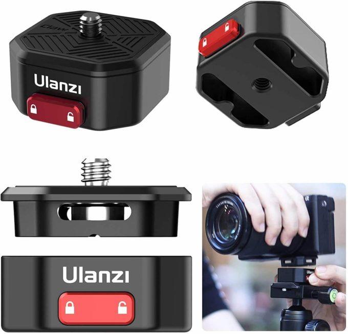 Ulanzi Claw クイックリリースプレート 便利 ワンタッチ 簡単 連結