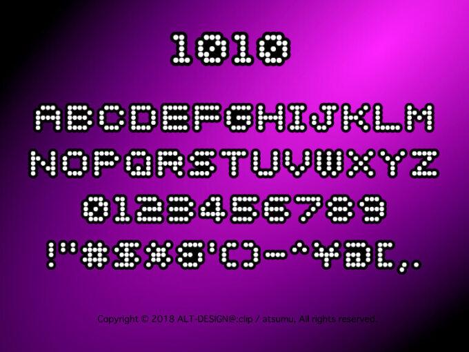 Free Font 無料 フリー フォント 追加 1010