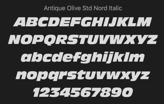 Free Font 無料 フリー 映画 フォント 追加 映画 ワイルドスピード Fast and Furious
