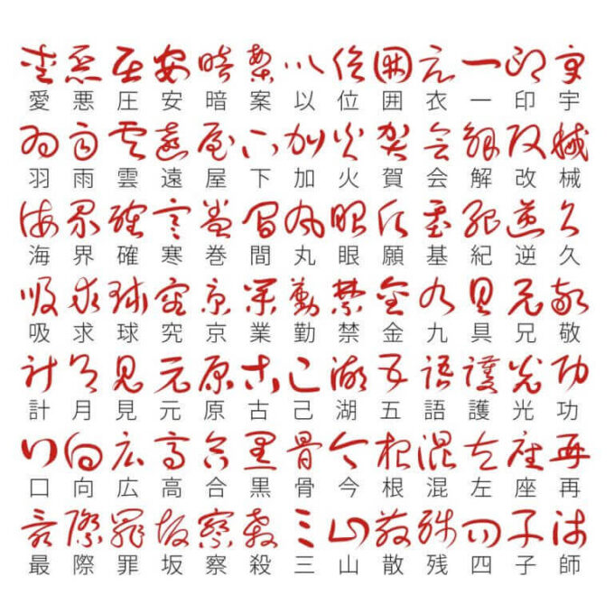 Free Font 無料 フリー フォント 追加 草書フォント