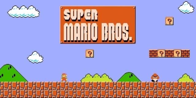 Free Font 無料 フリー 映画 フォント 追加  Super Mario Bros スーパーマリオブラザーズ