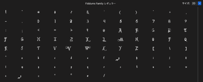 Free Font 無料 フリー 映画 フォント 追加  The Addams Family アダムスファミリー