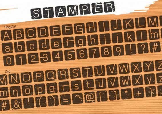 Free Font 無料 フリー フォント 追加 スタンプ スタンパーフォント