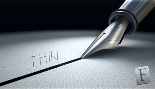 Free Font Thin 無料 フリー フォント 追加 細い