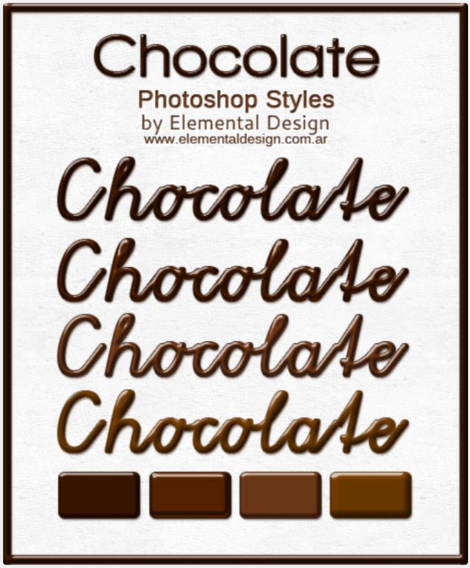 Photoshop Layer Style asl フォトショップ レイヤースタイル ハート バレンタイン Photoshop Layer Style asl フォトショップ レイヤースタイル ハート バレンタイン チョコレート Chocolate Style