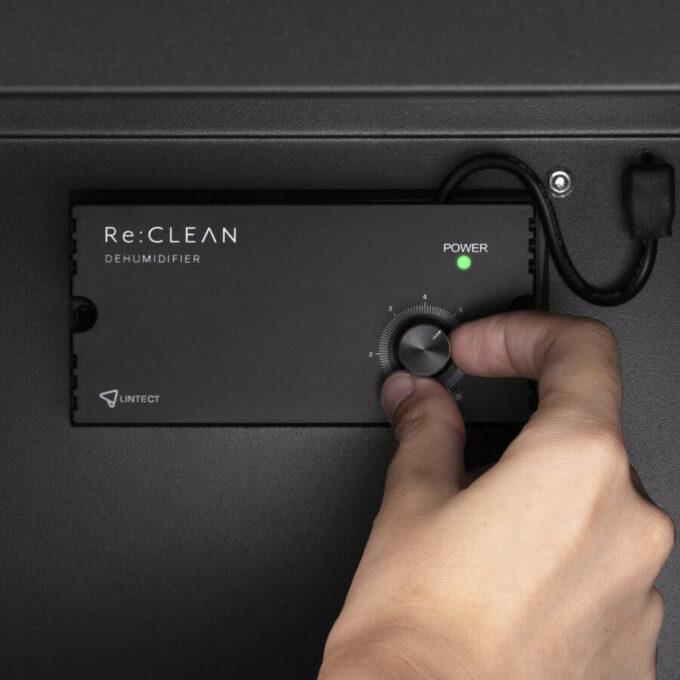 防湿庫 Re:CLEAN 湿度調整 ダイヤル