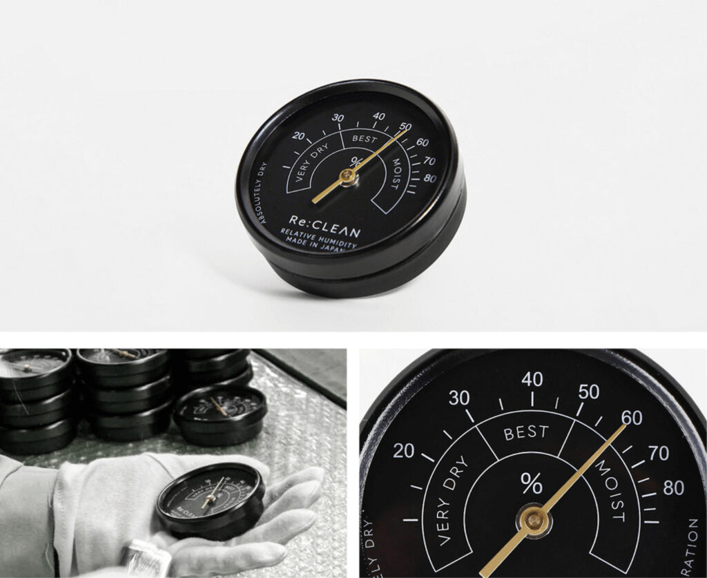 防湿庫 Re:CLEAN 湿度計 Hygrometer
