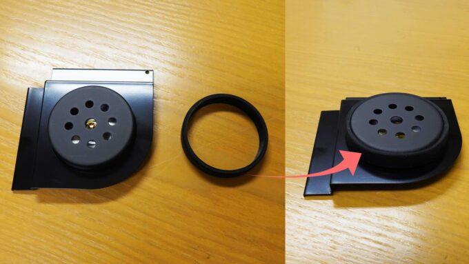 防湿庫 Re:CLEAN 付属品 湿度計 ブランケット 装着