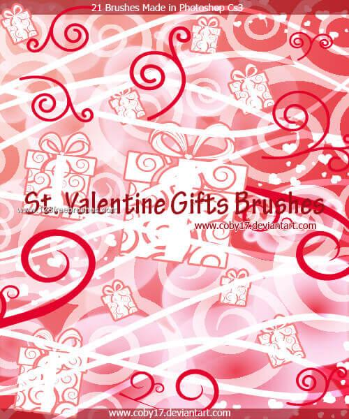 フォトショップ ブラシ Photoshop Cherry Blossoms Brush 無料 イラスト バレンタイン St. Valentine Gifts