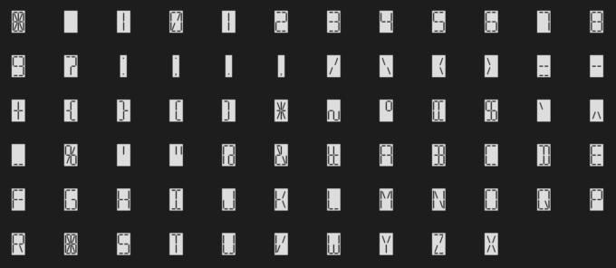 Free Font Digital 無料 フリー おすすめ フォント 追加 デジタル 7 Segmental Digital Display