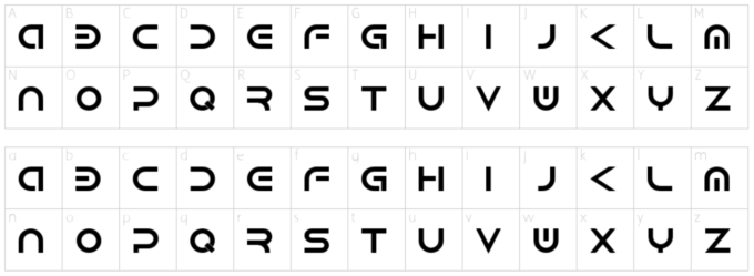 Free Font 無料 フリー フォント 追加 SF 近未来 Android