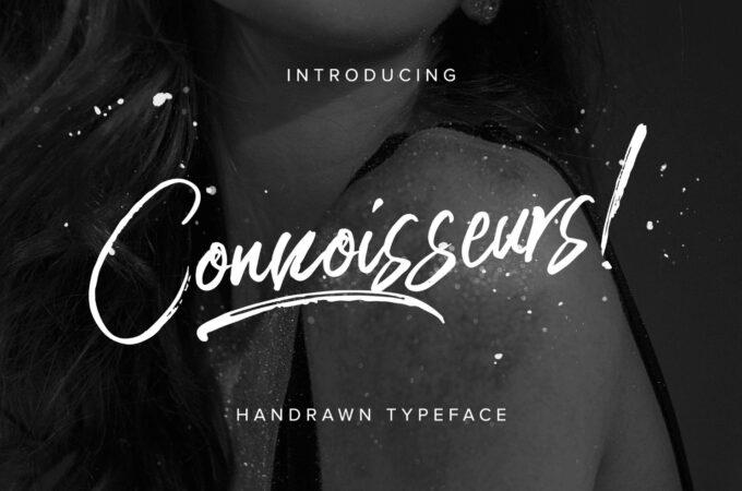 Free Font Design 無料 フリー フォント 追加 デザイン 筆記体 CONNOISSEURS