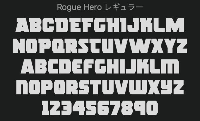Free Font 無料 フリー フォント 追加 映画 デッドプール Deadpool