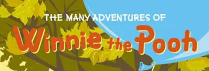 Free Font 無料 フリー おすすめ フォント 追加  ディズニー くまのプーさん The Many Adventures of Winnie the Pooh