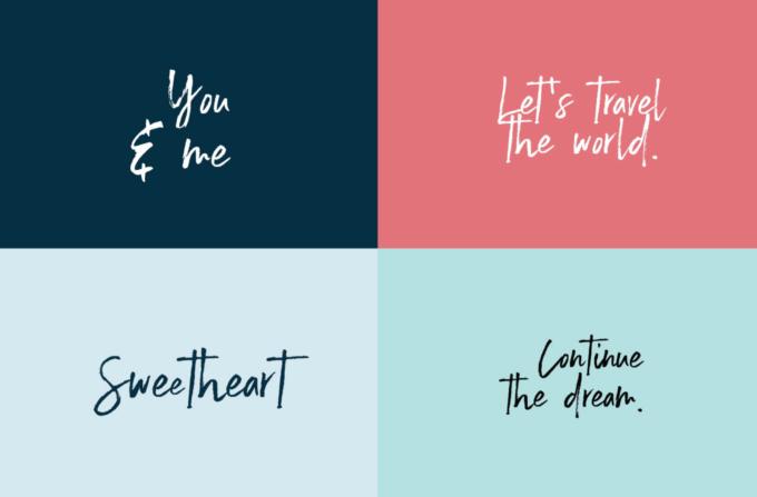 Free Font Design 無料 フリー フォント 追加 デザイン 筆記体 EMMELINE
