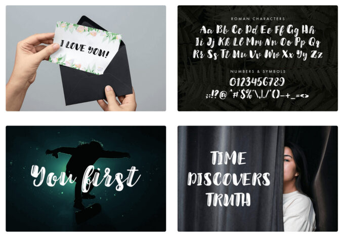 Free Font Design 無料 フリー フォント 追加 デザイン 筆記体 Jullian