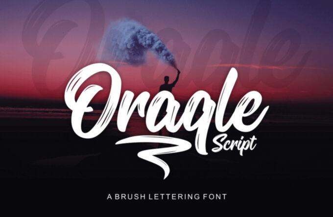 Free Font Design 無料 フリー フォント 追加 デザイン 筆記体 ORAQLE