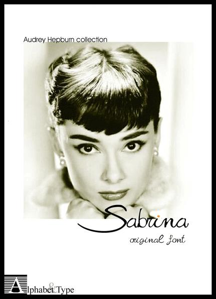 Free Font Design 無料 フリー フォント 追加 デザイン 筆記体 Sabrina