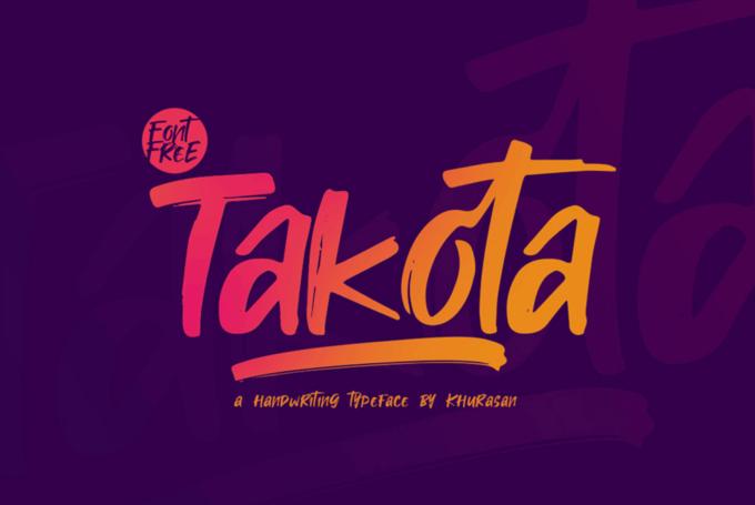 Free Font Design 無料 フリー フォント 追加 デザイン Takota