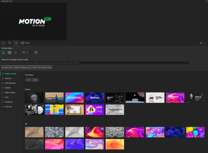 Adobe Premiere Pro Motion Bro Download Preset Pack 無料 プリセット 素材 インストール 方法 フリープラグイン