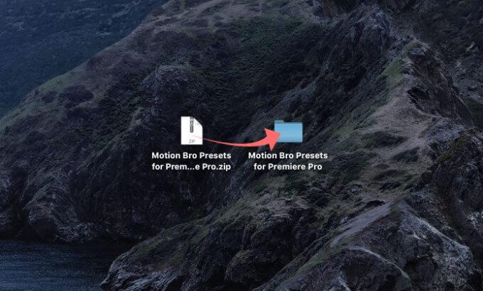 Motion Bro Presets for Premiere Pro ダウンロード インストール