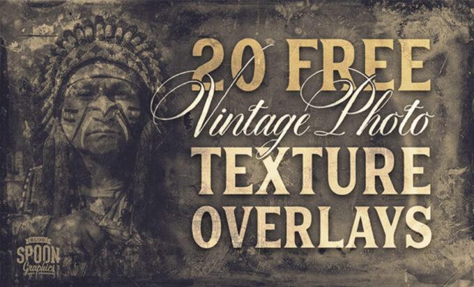 Photoshop Free  Retro Film Overlay Texture フォトショップ オーバーレイ テクスチャー 無料 フリー レトロ フィルム ヴィンテージ 20 Free Vintage Photo Texture Overlays From 1800s Photography