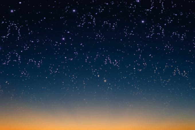 Photoshop Free Starry Sky Overlay Texture Bokeh フォトショップ オーバーレイ テクスチャー 無料 フリー 星空 スター 星 A Starry Skyline