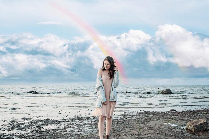 Photoshop Free Blue Sky Overlay Texture Bokeh フォトショップ オーバーレイ テクスチャー 無料 フリー 青空 スカイ 雲 Cloudy